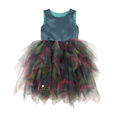 Đầm dạ hội 11001 GR (Green) 0938