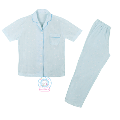 Bộ Pyjamas Tay Ngắn Cho Bố 1195