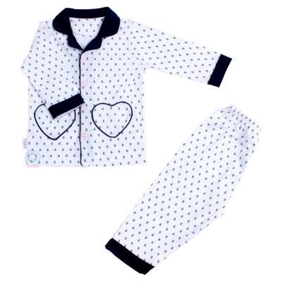 Bộ Pyjamas bông dài bé gái