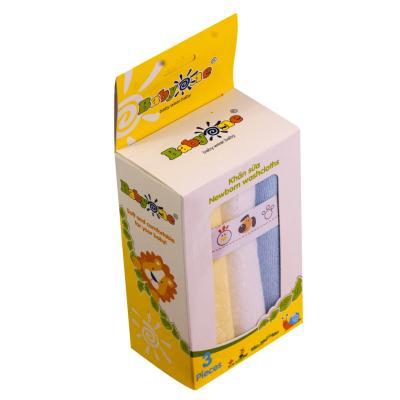 Khăn sữa BabyOne (2 lớp) 0642 (HỘP 3 CÁI)