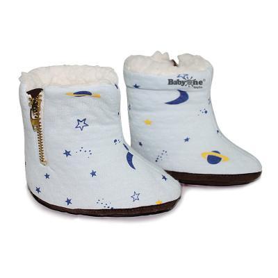 Giày boot dây kéo BabyOne 0979