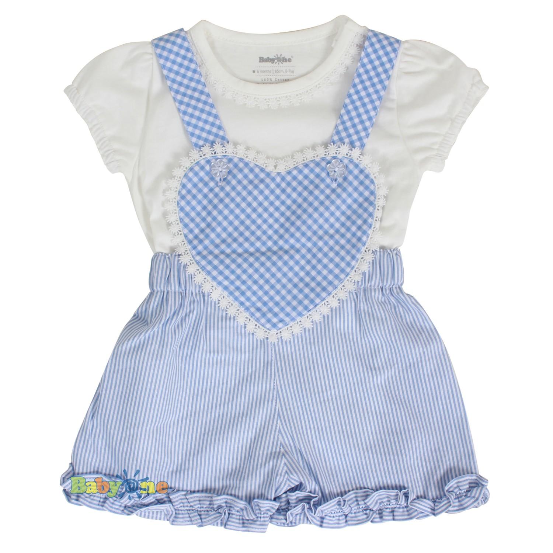 Bộ yếm trái tim bé gái 1079