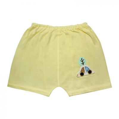 Quần mặc tã ngắn đính handmade 1005