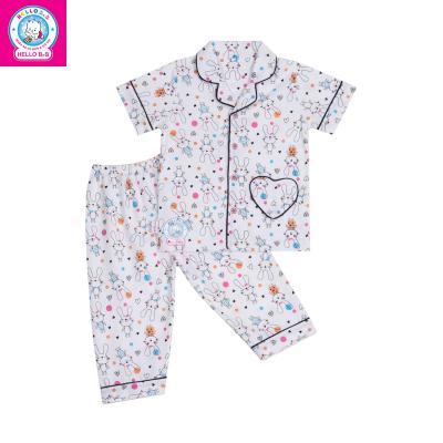 Bộ Pyjamas tay ngắn bé gái 1149