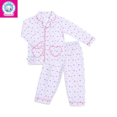 Bộ Pyjamas bông dài bé gái 0263.1