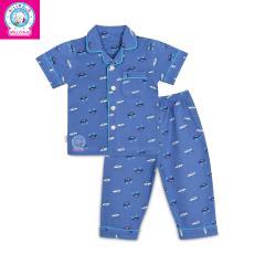 Bộ Pyjamas tay ngắn bé trai 1150