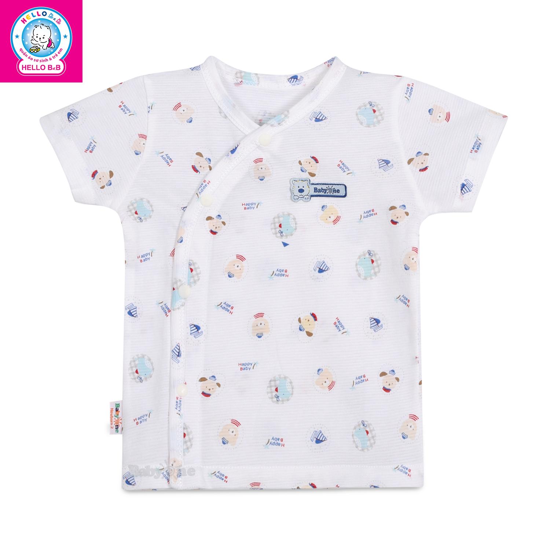 Áo tay ngắn bông (BabyOne 0662)