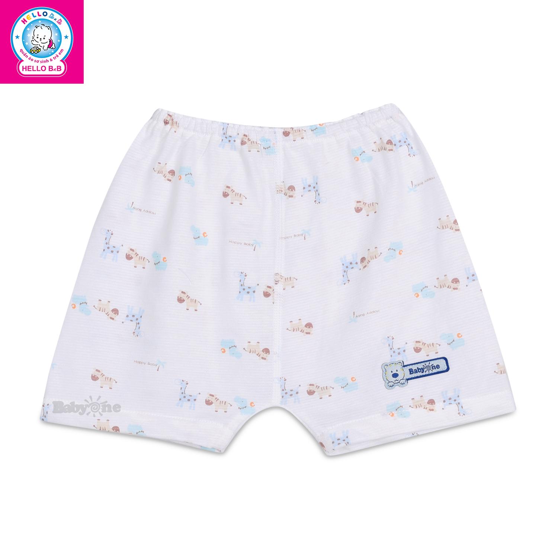 Quần mặc tã bông ngắn BabyOne 0546