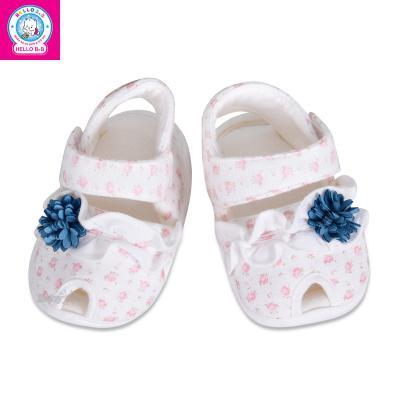 Giày sandal đính hoa